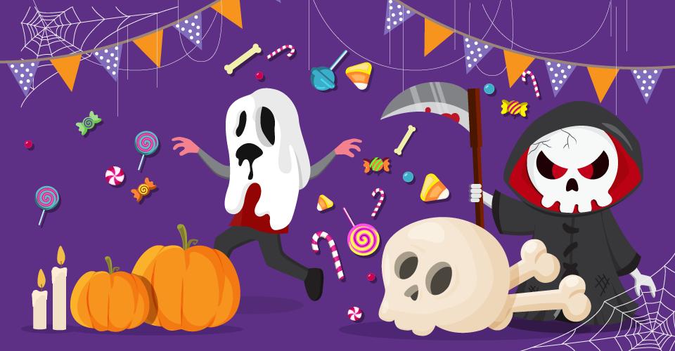 N'ayez pas peur d'économiser pour Halloween !