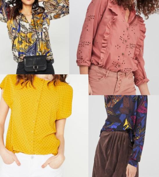 tendance coloré promod fashion