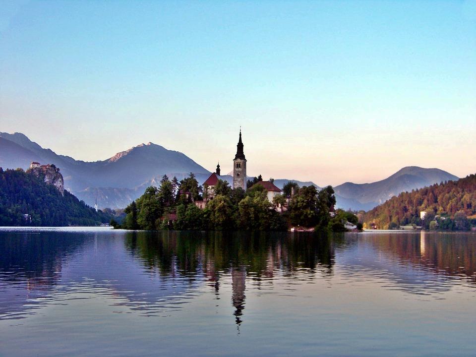 Europe, Le lac de Bled - Slovénie