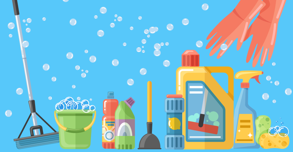 Nettoyer toute sa maison avec 4 produits écologiques et économiques
